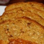 Scrumptious Sunday: Carrot, Coconut & Walnut Bread