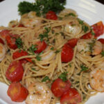Scrumptious Sunday: Pesto Shrimp Pasta