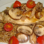 Chicken & Mushrooms with Marsala Wine Sauce
