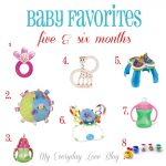 Mommy & Me and Baby Favorites 5 & 6 months