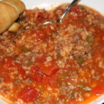 Stuffed Pepper Soup & What's Cooking