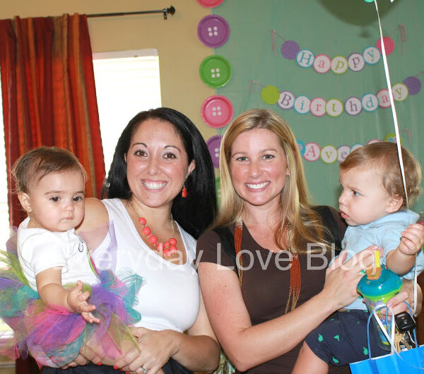 Cute as a Button Birthday {part two}