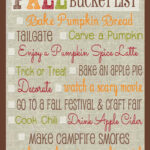 Making Memories: Fall Bucket List