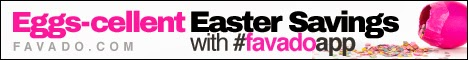 Eggs-cellent Easter Savings with Favado App