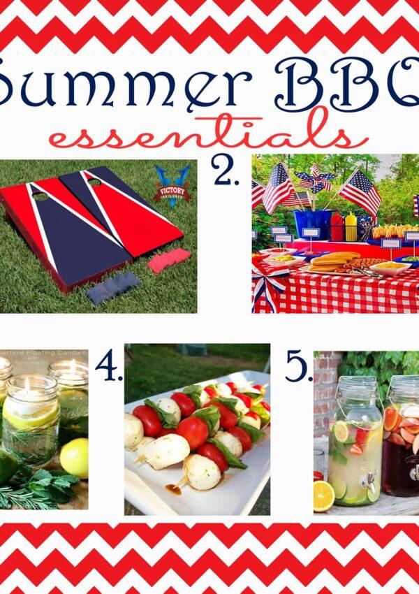Summer BBQ Essentials