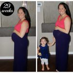 {Bump Date #2} 29 Weeks & Pink Blush Maternity Giveaway!