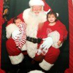 2014 Santa Visit & Christmas Pajamas!