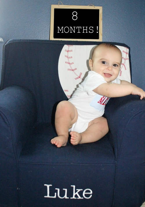 Protected: L is 8 months old!