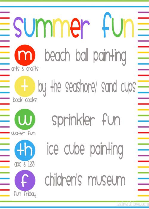 Summer Fun Week #3