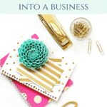 turn your blog into a business