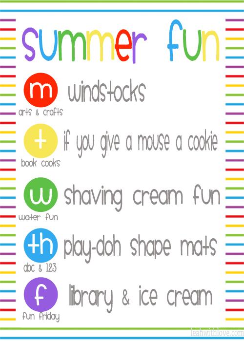 Summer Fun Week #8