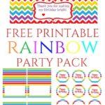 AG's 3rd Birthday- Rainbow Theme