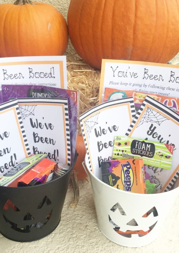 You've Been Booed (free printable)