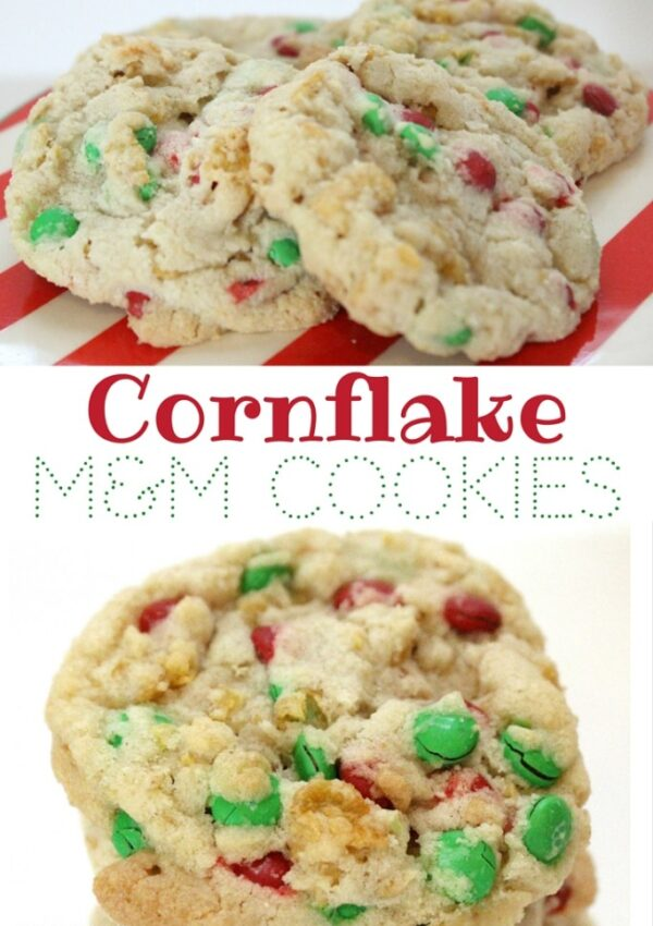 Cornflake M&M Cookies