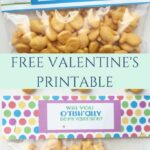 O'FISH'ALLY Be My Valentine- Free Printable