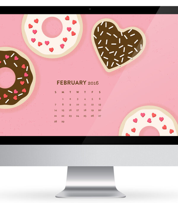 12 Free February Desktop Wallpapers