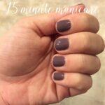 DIY 15 Minute Manicure