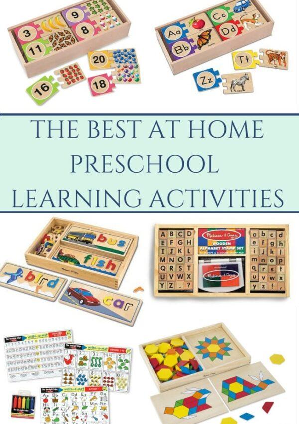 Favorite Preschool Learning Tools