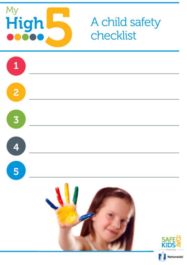 Child Safety- My High Five
