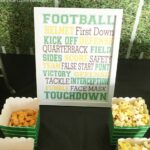 First Down Football Birthday Party