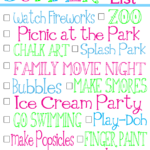 Summer Toys + Bucket List