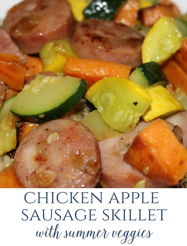 chicken sausage meal