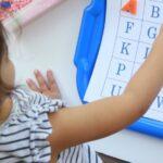 Printable Preschool Alphabet Mats + Activity
