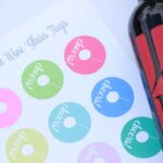 Summer Entertaining + Printable Wine Glass Tags