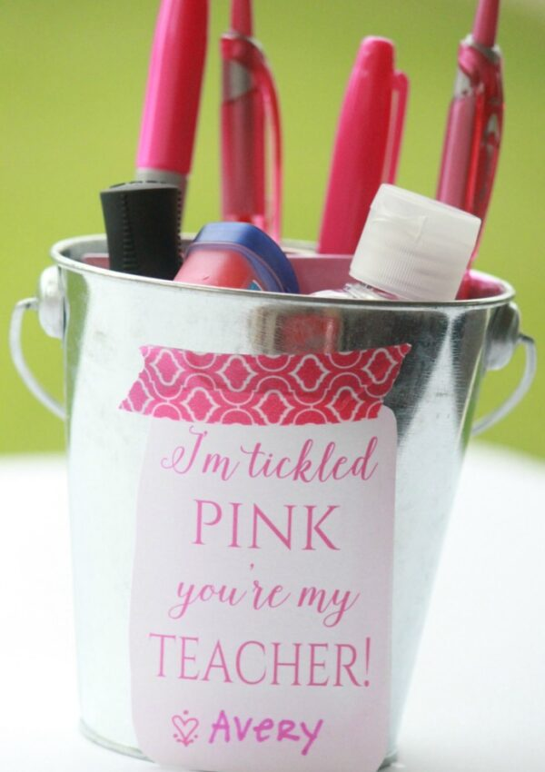 """""""Tickled Pink"""" Back to School Gift"""