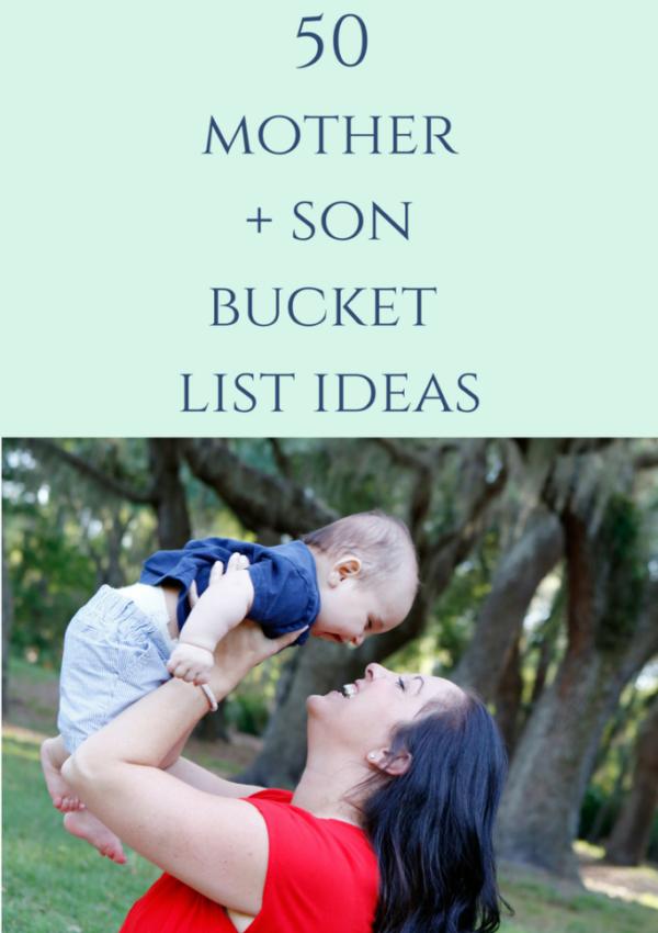 Mother + Son Bucket List