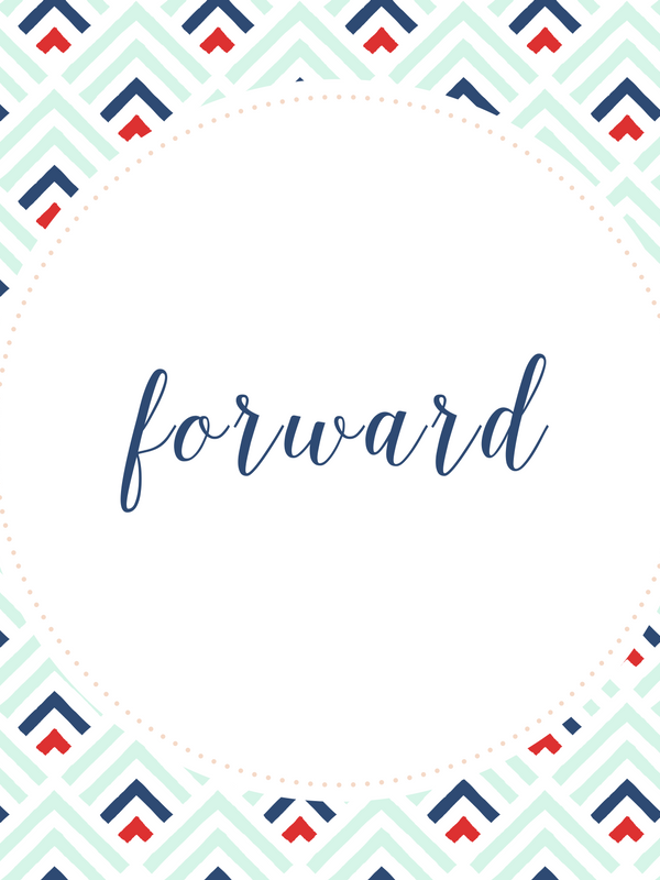 One Word 2017- Forward