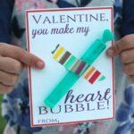 Free Printable Bubble Valentines