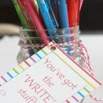 """WRITE"" Teacher Gift Printable"
