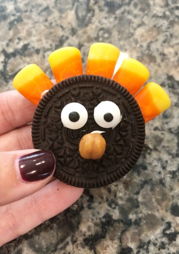 Thanksgiving Lunch Box Notes & Turkey Cookies