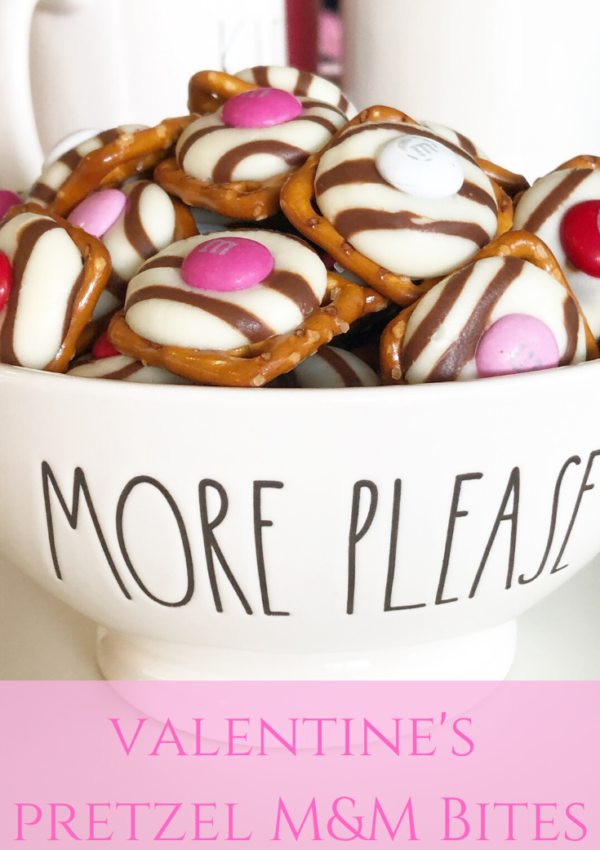 valentine's pretzel bites