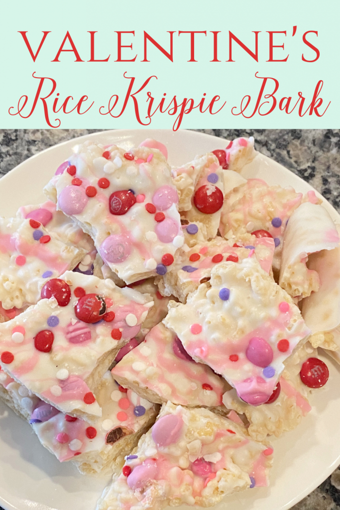 Rice Krispie Treat Bark