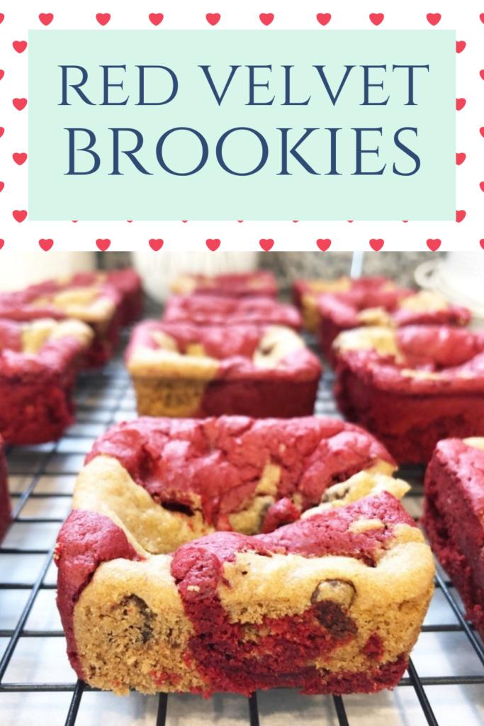 red velvet brookies