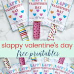 Slappy Valentine's Day- Free Printable