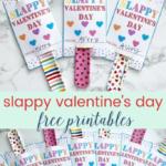 Slappy Valentine's Day- Free Printable