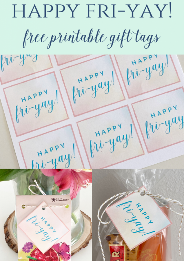 Happy FRI-YAY Gift Tags