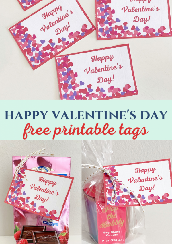 Happy Valentine's Day Tags