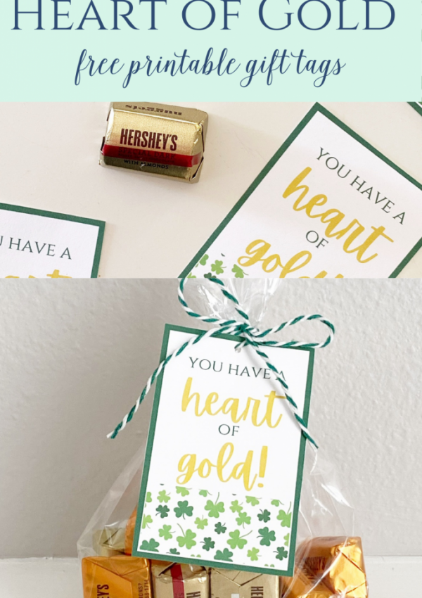 Heart of Gold- Gift Tags