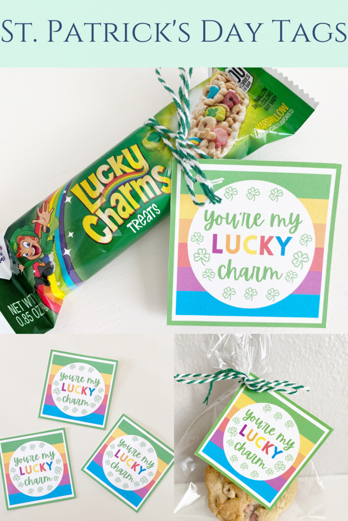 st. patricks day tags