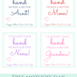 Handprint Mother's Day Gift