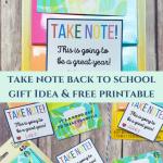 Take Note Back to School Teacher Gift