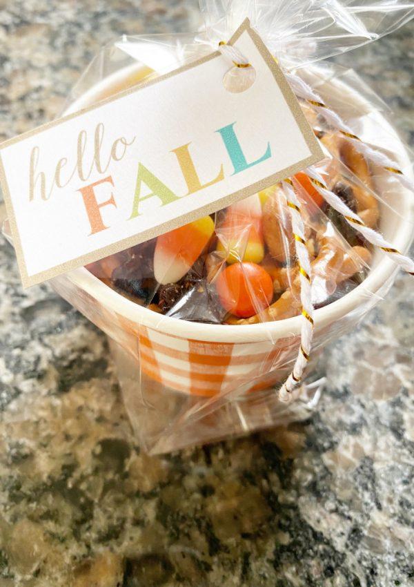 Hello, Fall Printable Tags